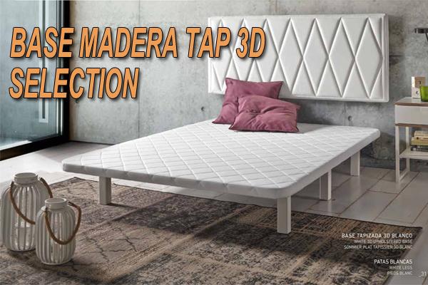 Somier Con Patas De Madera.Base Madera Selection